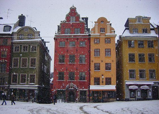 stockholm in the snow - photo #23