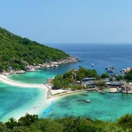 La Thailandia vista dal cielo,  uno spettacolo straordinario