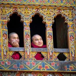 Bhutan, nella valle di Punakha  con gli sherpa della gioia