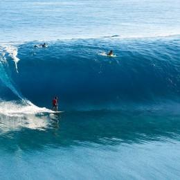 Tahiti, cavalcare le onde  il mio sogno proibito