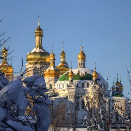 La Kiev di Santa Sofia  e gli occhi di ghiaccio di Irina