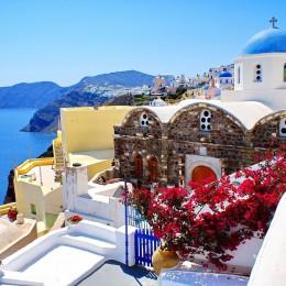 Emozioni e colori di Santorini  L'isola più romantica dell'Egeo