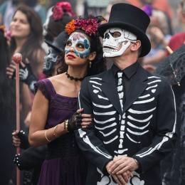 L'allegro giorno dei morti,  in Messico si fa festa