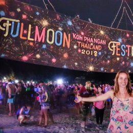 """Full Moon Party"",  la notte di Ko Phangan"