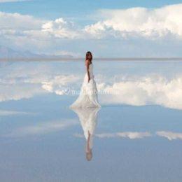 Il Salar de Uyuni, Bolivia  dove si incontrano cielo e terra