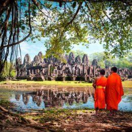 La dolcezza antica  della Cambogia di Angkor